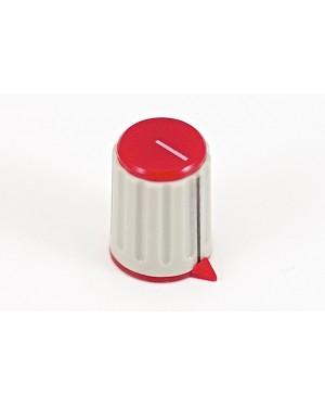 Art. 01055R - Pomello per potenziometro rosso