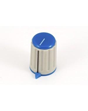 Art. 01055B - Pomello per potenziometro blu