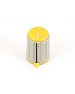 Art. 01055Y - Pomello per potenziometro giallo